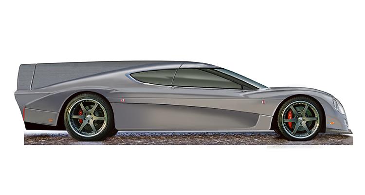 Green4U Panoz EV LM GT