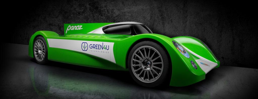 GT-EV Panoz Green4U racecar