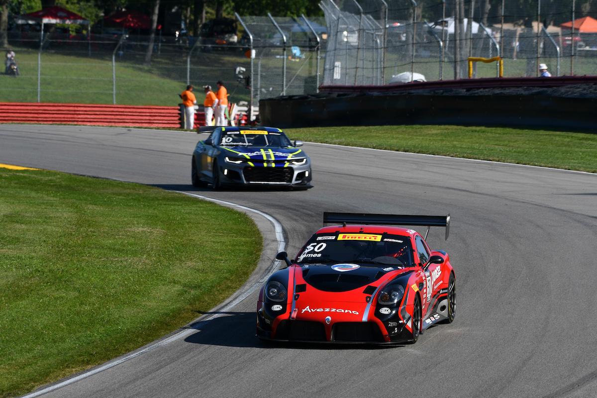 Team Panoz Racing Wins Pirelli World Challenge GTS/GT4 Championship Round 12 at Mid-Ohio