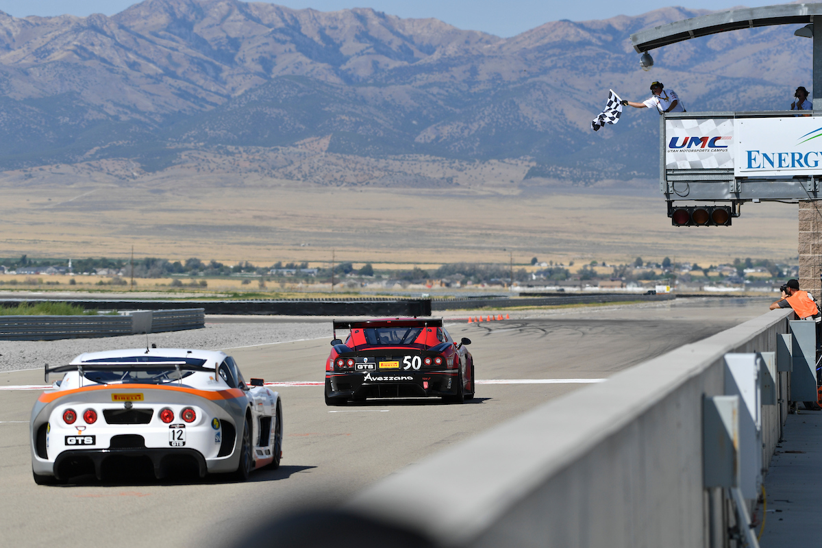 Team Panoz Racing Wins Pirelli World Challenge GT4/GTS Round 14 in Utah. Scores Fourth Victory in Three Race Weekends